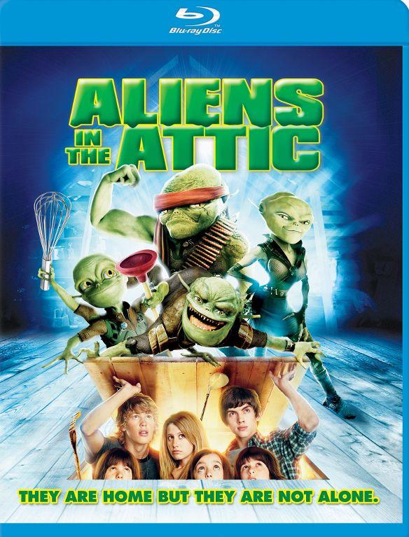 Aliens in the Attic [Blu-ray] [2009] 32036142