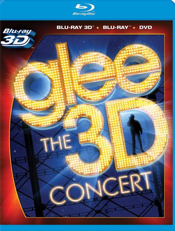 Glee: The 3D Concert [3D] [Blu-ray/DVD] [Blu-ray/Blu-ray 3D/DVD] [2011] 32036202