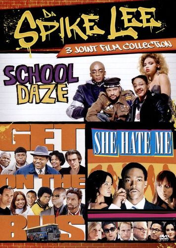 Da Spike Lee 3 Joint Film Collection: School Daze/She Hate Me/Get On the Bus [DVD] 32036494