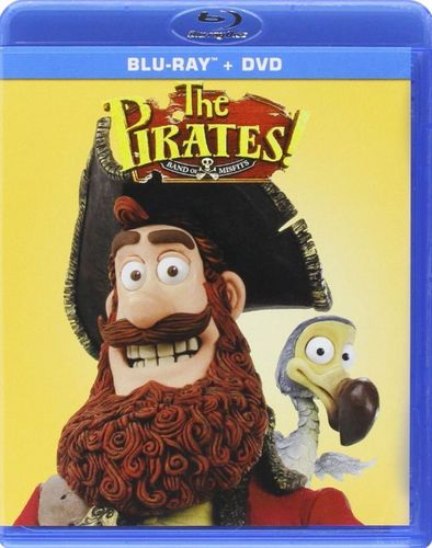 The Pirates! Band of Misfits [Blu-ray/DVD] [2 Discs] [2012] 32036565