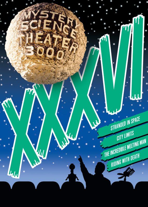 Mystery Science Theater 3000: Volume XXXVI [4 Discs] [DVD] 32059477