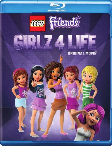 LEGO Friends: Girlz 4 Life [Blu-ray] [2 Discs] 32064454