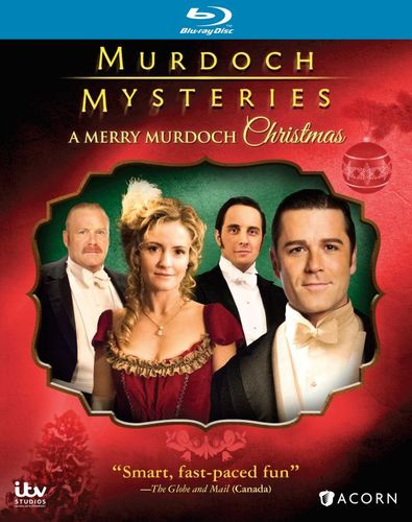 Murdoch Mysteries: A Merry Murdoch Christmas [Blu-ray] 32074139