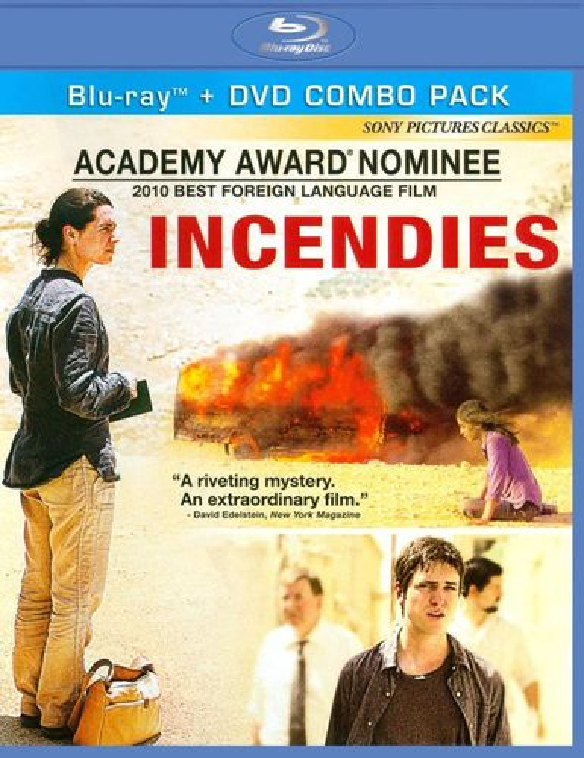 Incendies [2 Discs] [Blu-ray/DVD] [2010] 3208884