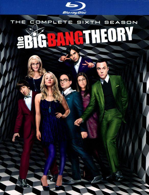 The Big Bang Theory: The Complete Sixth Season [2 Discs] [Blu-ray] 3210143