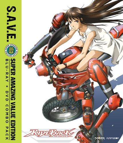 Rideback: The Complete Series [S.A.V.E.] [Blu-ray/DVD] [4 Discs] 32115247