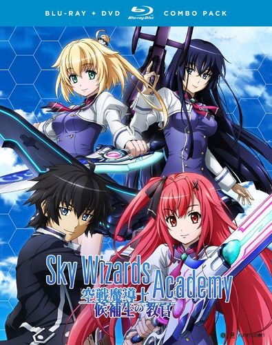 Sky Wizards Academy: The Complete Series [Blu-ray/DVD] [4 Discs] 32116195