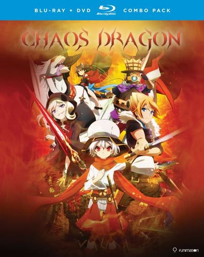 Chaos Dragon: The Complete Series [Blu-ray/DVD] [4 Discs] 32117185