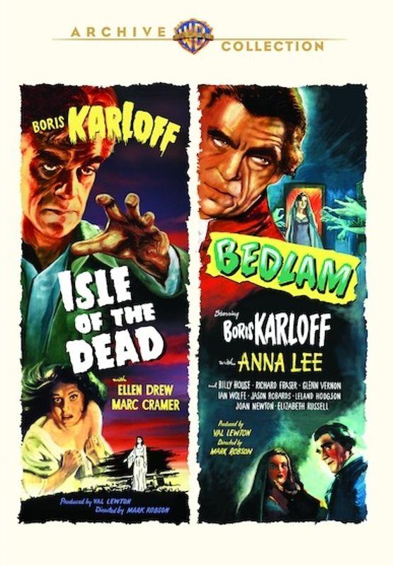 Isle of the Dead/Bedlam [DVD] 32128496