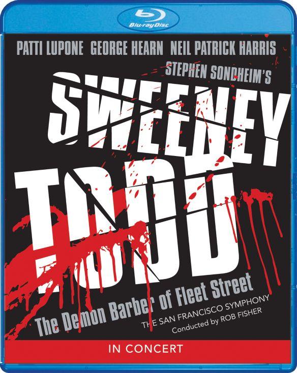 Sweeney Todd: The Demon Barber of Fleet Street - In Concert [Blu-ray] [2001] 32128721