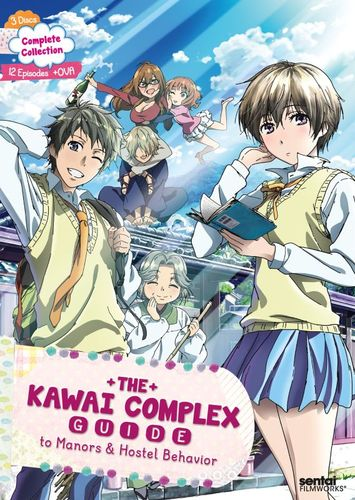 The Kawai Complex Guide to Manors & Hostel Behavior: Complete Collection [Blu-ray] [2 Discs] 32136555