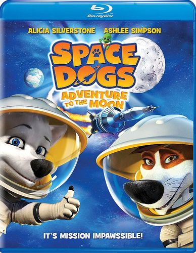 Space Dogs: Adventure to the Moon [Blu-ray] [2016] 32146417