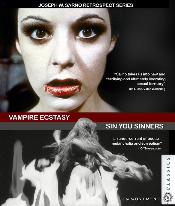 Vampire Ecstasy/Sin You Sinners [DVD] 32147805