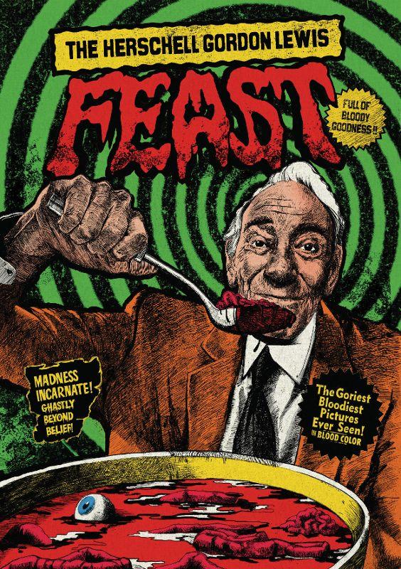 The Herschell Gordon Lewis Feast [Blu-ray] [17 Discs] 32153454