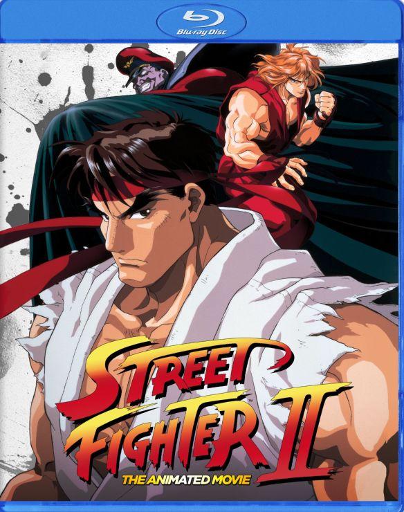 Street Fighter II: The Animated Movie [Blu-ray] [1994] 32160141