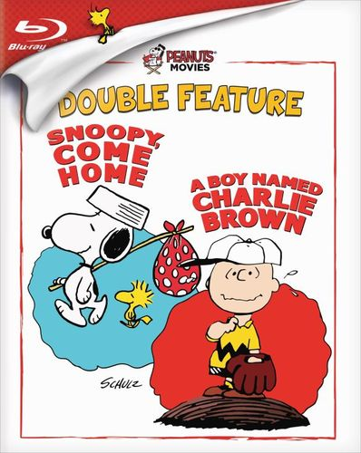 Peanuts: Snoopy, Come Home/A Boy Named Charlie Brown [Blu-ray] 32179188