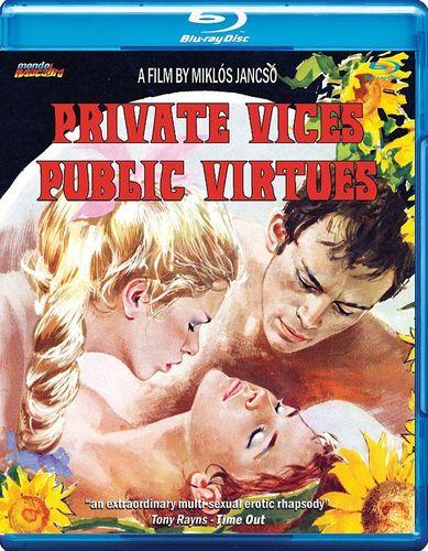 Private Vices Public Virtues [Blu-ray] [1975] 32183716