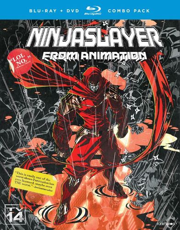 Ninja Slayer: The Complete Series [Blu-ray/DVD] [4 Discs] 32193589
