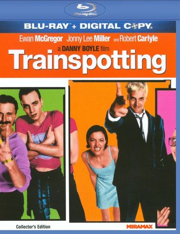 Trainspotting [Includes Digital Copy] [Blu-ray] [1996] 3220243