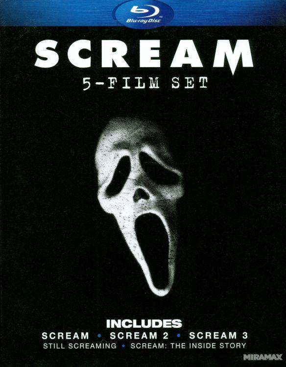 Scream: 5 Film Set [4 Discs] [Blu-ray] 3220289