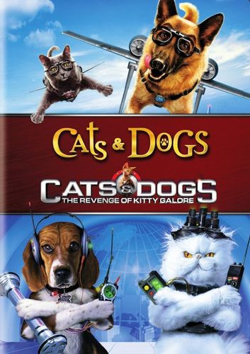 Cats & Dogs/Cats & Dogs: The Revenge of Kitty Galore [2 Discs] [DVD] 32204214