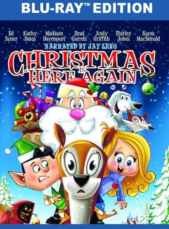 Christmas is Here Again [Blu-ray] [2007] 32225356