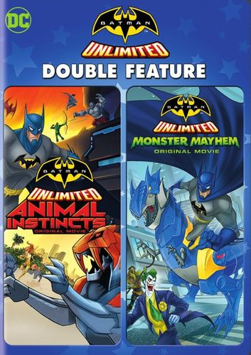 Batman Unlimited: Animal Instincts/Batman Unlimited: Monster Mayhem [2 Discs] [DVD] 32230489