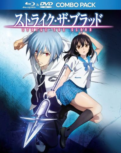 Strike the Blood: The Complete Collection [Blu-ray/DVD] [4 Discs] 32238898