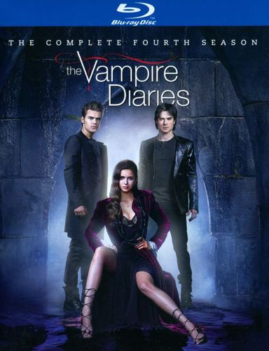 The Vampire Diaries: The Complete Fourth Season [4 Discs] [Blu-ray] 3224003