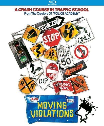 Moving Violations [Blu-ray] [1985] 32243744