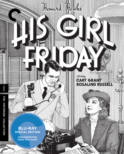His Girl Friday [Criterion Collection] [Blu-ray] [2 Discs] [1940] 32267203