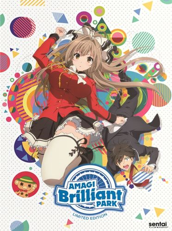 Amagi Brilliant Park: The Complete Collection [Premium Edition] [Blu-ray] [5 Discs] 32313493