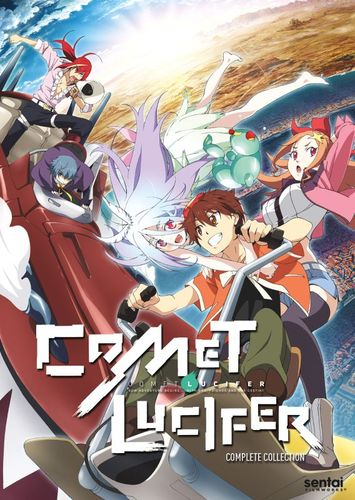 Comet Lucifer: The Complete Collection [3 Discs] [DVD] 32313555