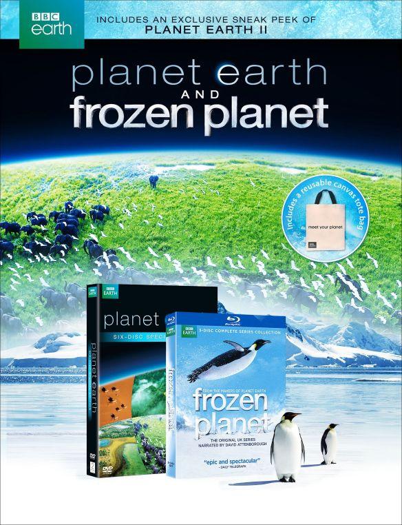 Planet Earth Gift Set: Planet Earth/Frozen Planet [Blu-ray/DVD] 32313728