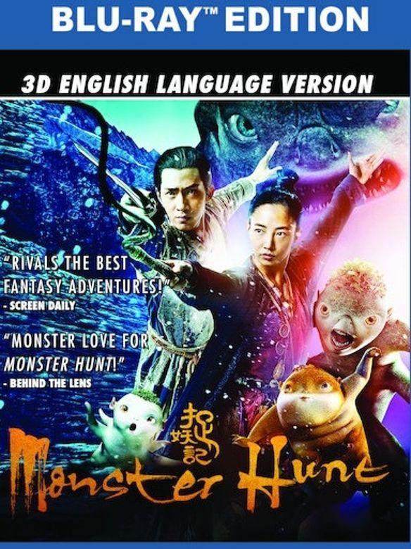 Monster Hunt [3D] [Blu-ray] [Blu-ray/Blu-ray 3D] [2015] 32335186