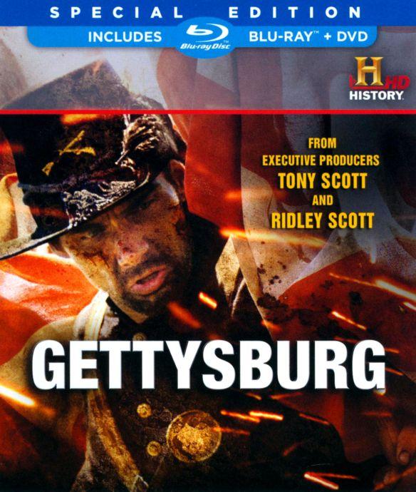 Gettysburg [2 Discs] [Blu-ray/DVD] [2011] 3233908