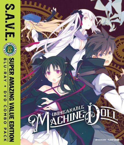 Unbreakable Machine-Doll: The Complete Series [S.A.V.E.] [Blu-ray] 32366203