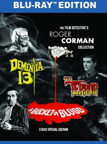The Film Detective's Roger Corman Collection [Blu-ray] [3 Discs] 32370517