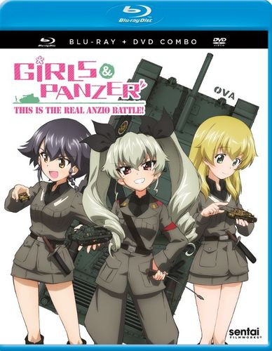 Girls und Panzer: This is the Real Anzio Battle! [Blu-ray/DVD] [2 Discs] [2014] 32390281