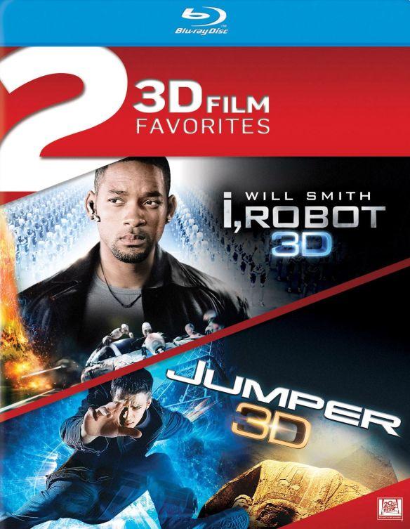 I, Robot 3D/Jumper 3D [2 Discs] [Blu-ray]