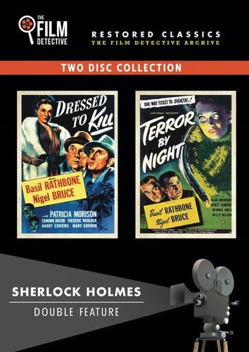 Sherlock Holmes Double Feature: Dressed to Kill/Terror By Night [2 Discs] [DVD] 32419039