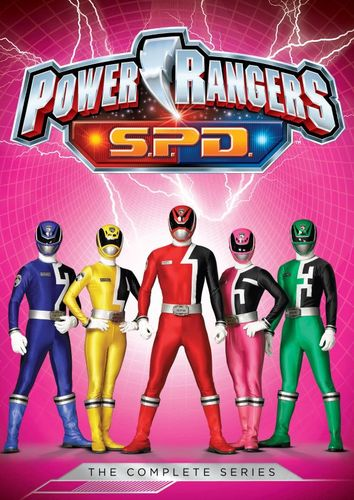 Power Rangers S.P.D.: The Complete Series [5 Discs] [DVD] 32435034
