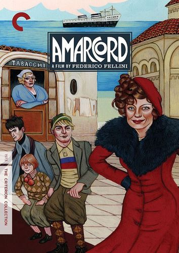 Amarcord [Criterion Collection] [DVD] [1973] 32441236