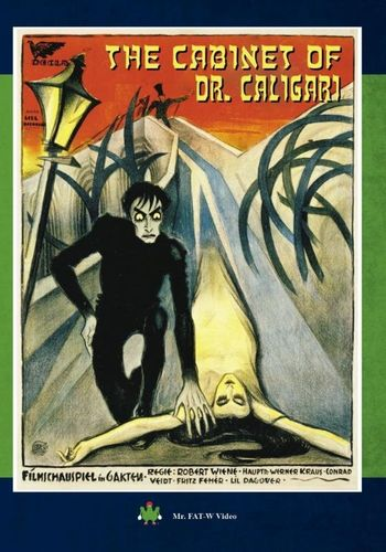 The Cabinet of Dr. Caligari [DVD] [1920] 32445479