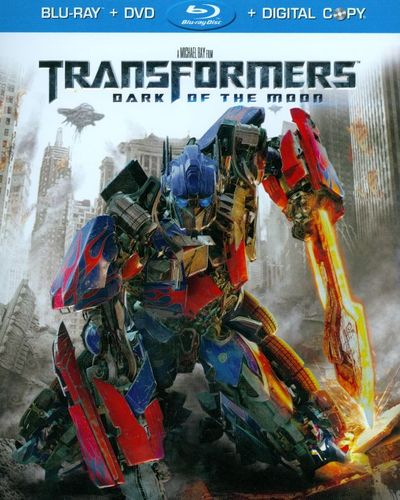Transformers: Dark of the Moon [2 Discs] [Includes Digital Copy] [Blu-ray/DVD] [2011] 3247045