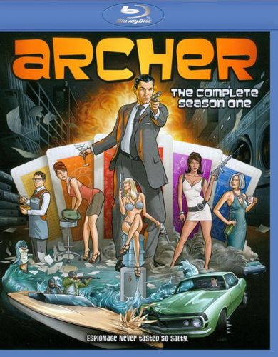 Archer: Season 1 [Blu-ray] 3251039