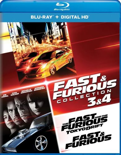 Fast and Furious Collection: 3 and 4 [Includes Digital Copy] [UltraViolet] [Blu-ray] [2 Discs] 32528341