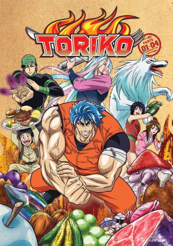Toriko: Parts 1-4 [8 Discs] [DVD] 32551297