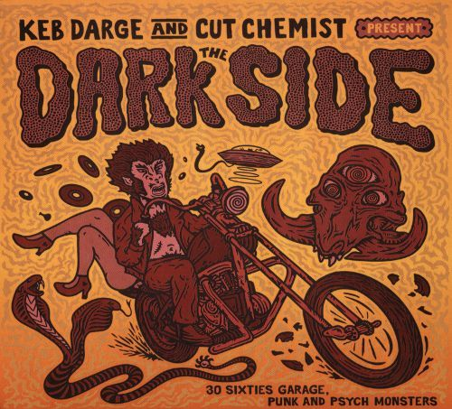 Keb Darge & Cut Chemist Present the Dark Side: 30 Sixties Garage Punk and Psyche Monsters [CD] 32583721