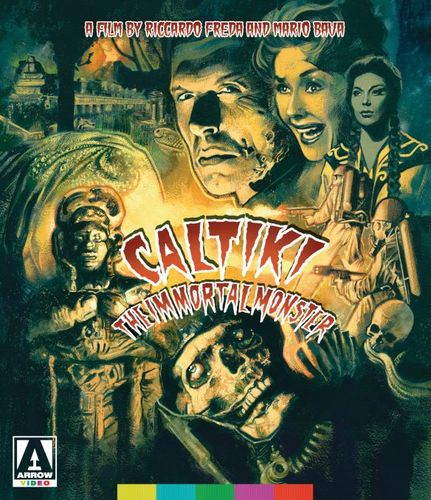 Caltiki: The Immortal Monster [Blu-ray/DVD] [2 Discs] [1959] 32610196